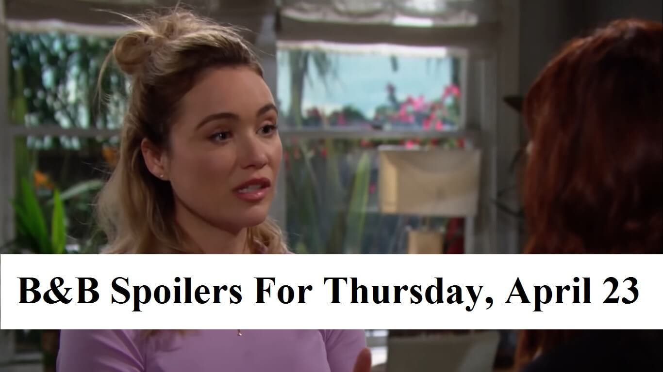 The Bold and the Beautiful Spoilers May 25-29 Next Weeks