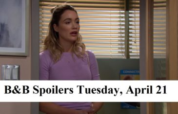 The Bold and the Beautiful Spoilers Tuesday, April 21