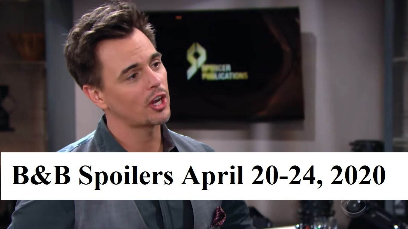 The Bold and the Beautiful Spoilers November 24-28: Rick