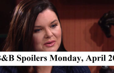 The Bold and the Beautiful Spoilers for Monday, April 20, 2020