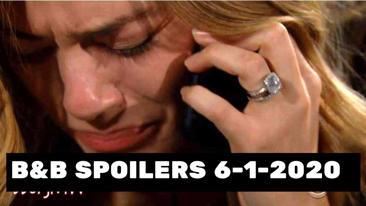 The Bold and the Beautiful spoilers for Monday, June 1, 2020