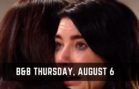 The Bold and the Beautiful Spoilers For Thursday, August 6 B&B