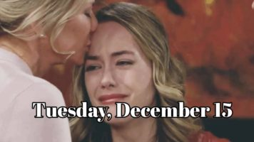 The Bold and the Beautiful Spoilers Tuesday, December 15 B&B
