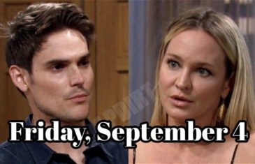 The Young and the Restless For Spoilers Friday, September 4