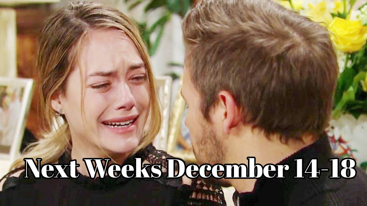 The Bold and the Beautiful Spoilers December 14-18 Next Week