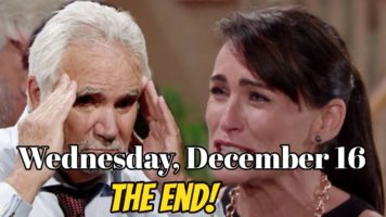 The Bold and The Beautiful Spoilers For Wednesday, December 16