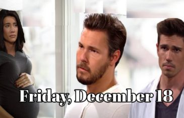 The Bold and the Beautiful Spoilers For Friday, December 18 B&B