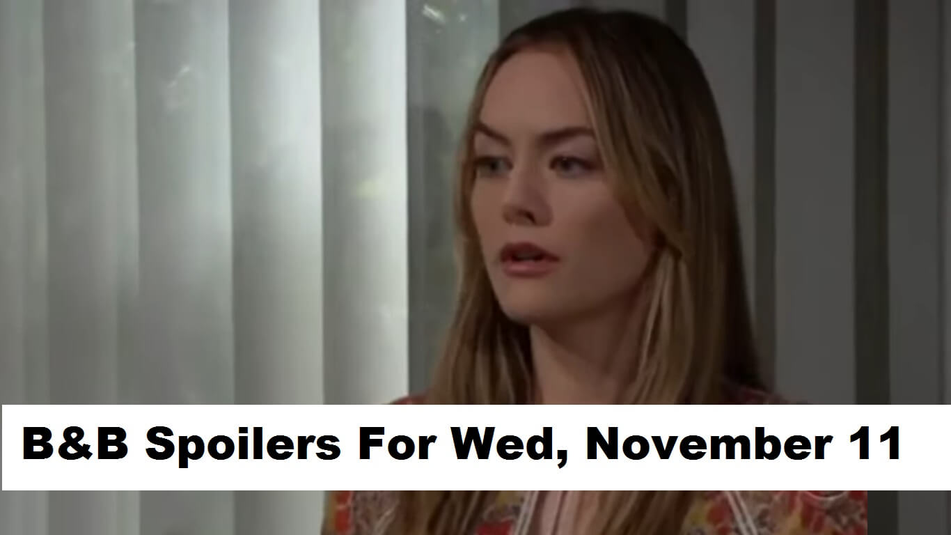 The Bold and the Beautiful Spoilers For Wednesday, November 11, 2020