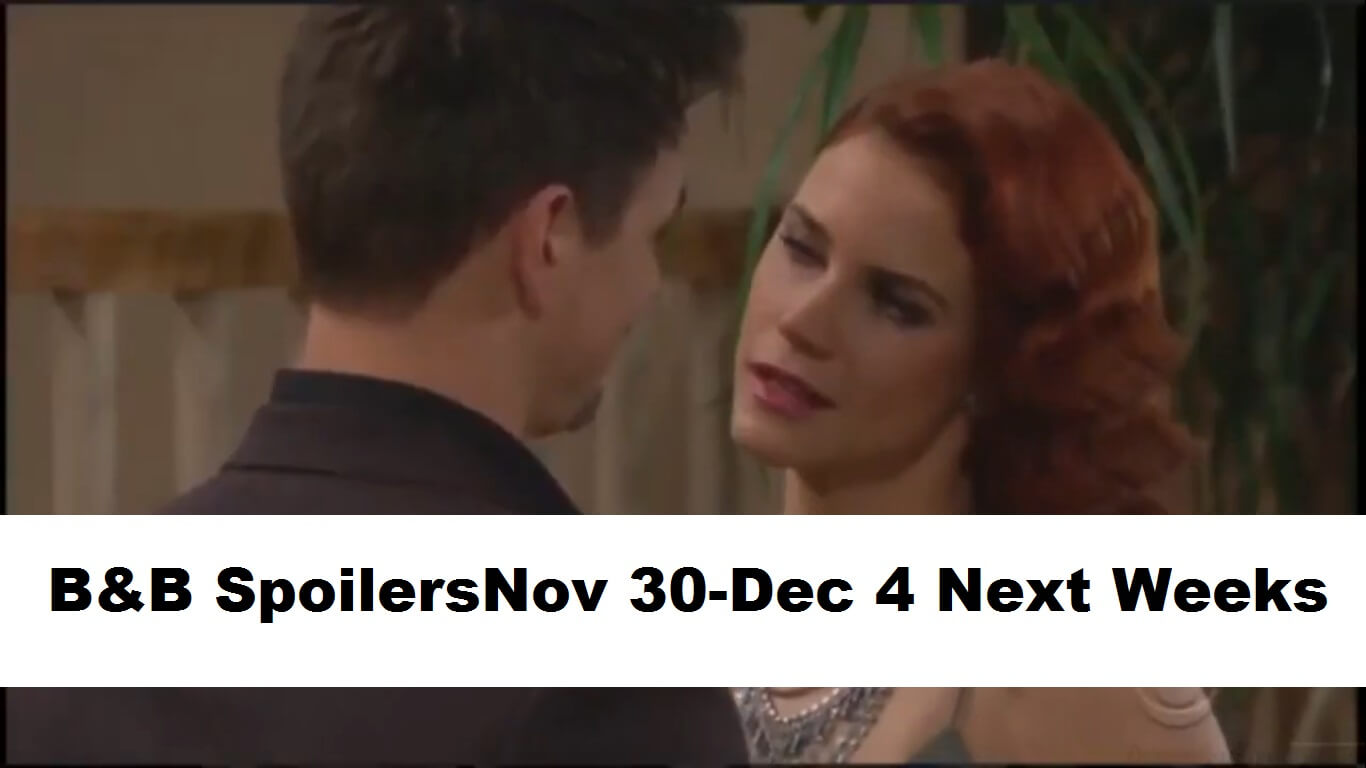 The Bold and the Beautiful Spoilers November 30-December 4 Next Weeks, 2020